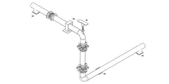 pipe gimbal expansion joints