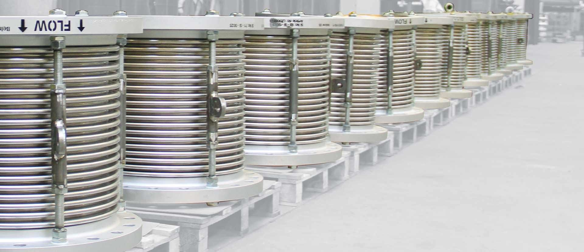 NORSOK expansion joints
