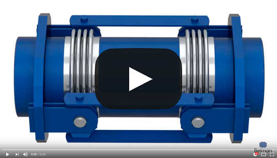 Angular expansion joints special designed gimbal expansion joints